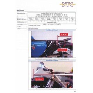 DTC   DTC Rahmenkürzung Honda CB500 - CB750 Four - DOHC Modelle