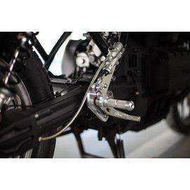 BSK Speedworks CNC-Fussrastenanlage BMW K75S - K100 ohne ABS