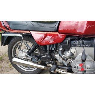 Hattech Schalldämpfersatz Gunball BMW R 65, R 80, R 80RT, R 100 RS, RT Monolever Modelle ab `85