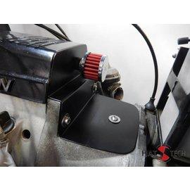 Hattech Luftfiltergehäuse Ersatzblech - Edelstahl schwarz pulverbeschichtet