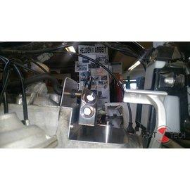 Hattech Luftfiltergehäuse Ersatzblech - Edelstahl glasperlengestrahlt