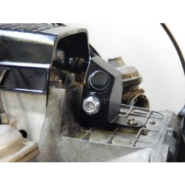 Hattech Ausgleichbehälter für Motorentlüftung - schwarz pulverbeschichtet