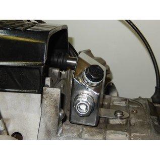 Hattech Ausgleichbehälter für Motorentlüftung -Edelstahl glasperlengestrahlt