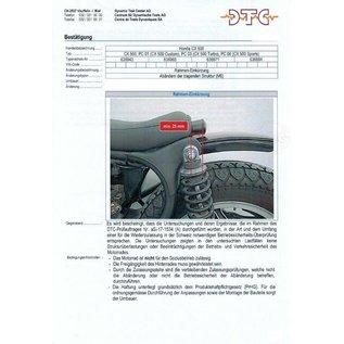 DTC   DTC Rahmenkürzung Honda CX 500