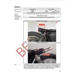 DTC DTC Rahmenkürzung Yamaha SR500 - SR400