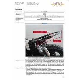 DTC DTC Rahmenkürzung Honda CB750 RC42