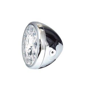"""Highsider 7"""" Highsider LED Scheinwerfer chrom RENO 1"""