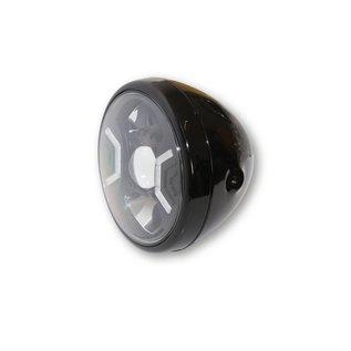 """Highsider 7"""" Highsider LED Scheinwerfer schwarz RENO 2"""