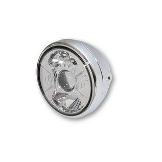 """Highsider 7"""" Highsider LED Scheinwerfer chrom RENO 2"""