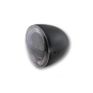 """Highsider 5 3/4"""" Highsider LED Scheinwerfer schwarz Circle"""