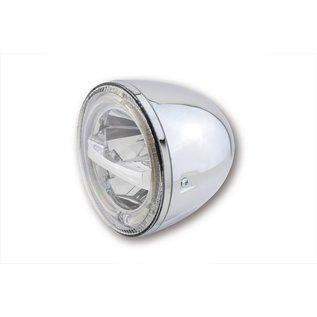"Highsider 5 3/4"" Highsider LED Scheinwerfer chrom Circle"