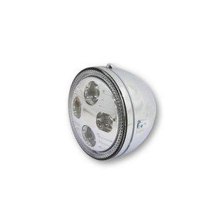 "Highsider 5 3/4"" Highsider LED Scheinwerfer chrom Atlanta"