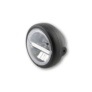 """Highsider 5 3/4"""" Highsider LED Scheinwerfer schwarz Pecos 6"""