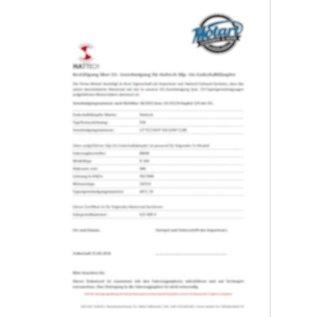 CH-Eignungserklärung für Hattech Auspuffanlagen