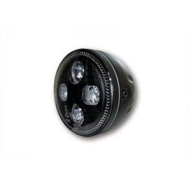 "Highsider 5 3/4"" Highsider LED Scheinwerfer schwarz Atlanta"