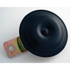 Hupe, italian art, schwarz, 12 V, 80mm, 110 db