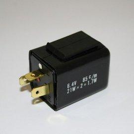 Blinkrelais, 3 Pole elektronisch 6 V