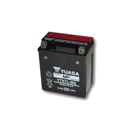 Yuasa YUASA Batterie YTX 7L-BS wartungsfrei (AGM) inkl. Säurepack