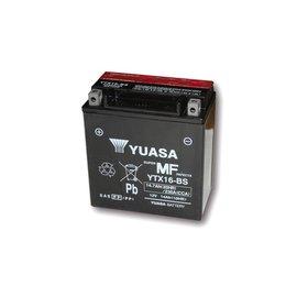 Yuasa YUASA Batterie YTX 16-BS wartungsfrei (AGM) inkl. Säurepack