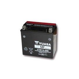 Yuasa YUASA Batterie YTX 14-BS wartungsfrei (AGM) inkl. Säurepack