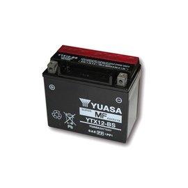 Yuasa YUASA Batterie YTX 12-BS wartungsfrei (AGM) inkl. Säurepack