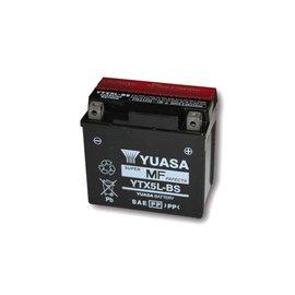 Yuasa YUASA Batterie YTX 5L-BS wartungsfrei (AGM) inkl. Säurepack