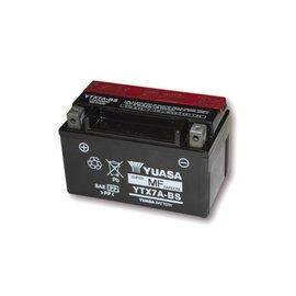 Yuasa YUASA Batterie YTX 7A-BS wartungsfrei (AGM) inkl. Säurepack