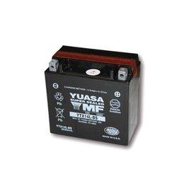 Yuasa YUASA Batterie YTX 14L-BS wartungsfrei (AGM) inkl. Säurepack