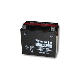 Yuasa YUASA Batterie YTX 20-BS wartungsfrei (AGM) inkl. Säurepack