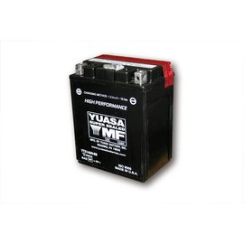 Yuasa YUASA Batterie YTX 14AH-BS wartungsfrei (AGM) inkl. Säurepack