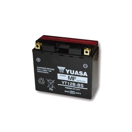 Yuasa YUASA Batterie YT 12 B-BS (YT 12B-4) wartungsfrei (AGM)