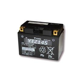 Yuasa YUASA Batterie YTZ 14 S wartungsfrei (AGM) befüllt, 11,2Ah