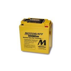 MOTOBATT Batterie MBTX16U, 4-polig