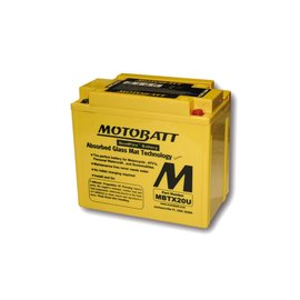 MOTOBATT Batterie MBTX20U, 4-polig