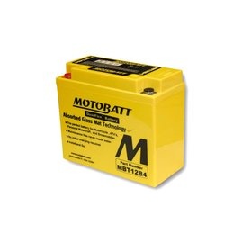 MOTOBATT Batterie MBT12B4