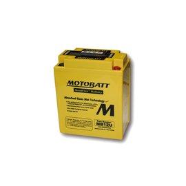 MOTOBATT Batterie MB12U, 4-polig