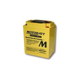 MOTOBATT Batterie MBTX14AU, 4-polig