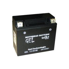 Intact Bike Power Batterie GEL YTX20-BS