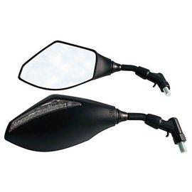 Spiegel mit LED-Blinker