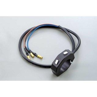 Daytona Externe CNC Tasterarmatur mit 2 Taster, schwarz, für 7/8 & 1 Zoll Lenker