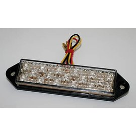 Shin Yo SHIN YO LED-Rücklicht, SUPERFLAT, Klarglas, mit Befestigungslaschen, E-gepr.
