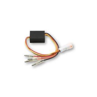Highsider Ersatz-Elektronikbox 2 für Rück-, Bremslicht, Blinker Einheit BLAZE, Stecker weiss