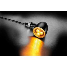 Kellermann LED-Blinker Bullet 1000 Dark, schwarz, getöntes Glas