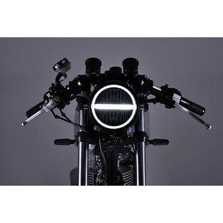 Daytona DAYTONA LED-Scheinwerfer 5 3/4 Zoll NEOVINTAGE, schwarz
