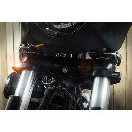 HeinzBikes ZC-Line Gabel Blinker MICRO 41mm (till 39mm) black