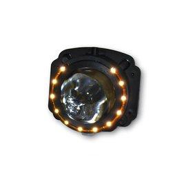 Shin Yo SHIN YO Ellipsoidscheinwerfer, Abblendl. + LED-Positionsl.