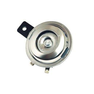 Edelstahl Hupe, 12V, 72 mm Durchmesser