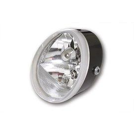 Shin Yo SHIN YO Universal Scheinwerfer OVAL mit Standlicht, schwarz, 12V H9+H11, E-gepr.