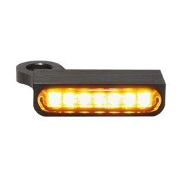HeinzBikes LED Armaturen Blinker SPORTSTER Modelle 14-, schwarz