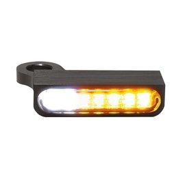 HeinzBikes LED Armaturen Blinker-Positionslicht-Kombination SPORTSTER Modelle 14-, schwarz